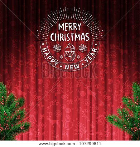 Christmas Tree Decoration Card