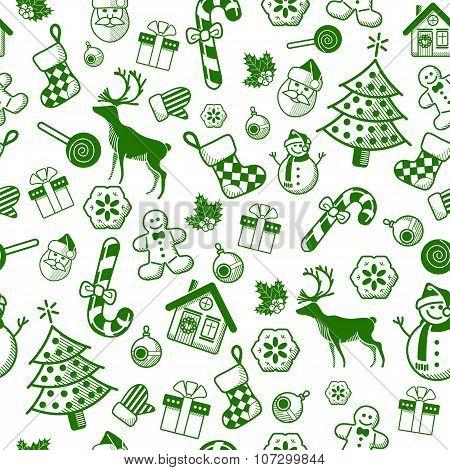 Christmas Decorative Pattern
