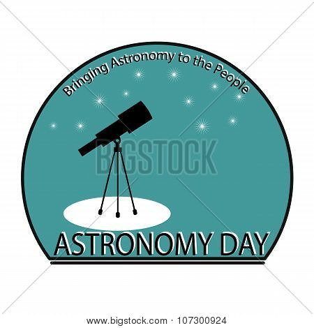 Astronomy Day.