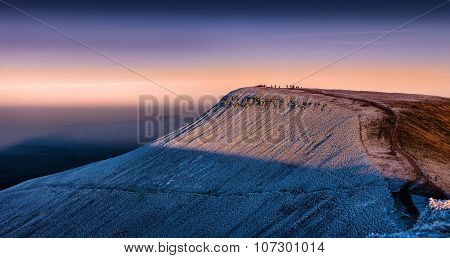 Pen y fan in South Wales