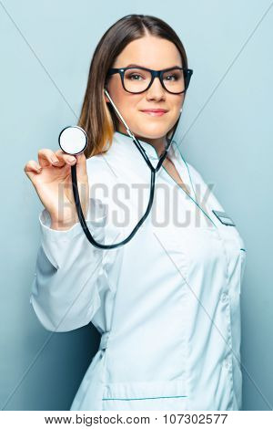 Concept for young female doctor