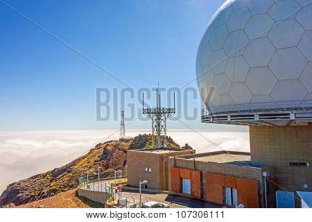 Top of Pico Arieiro, Madeira