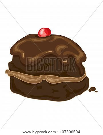 Chocolate Bun