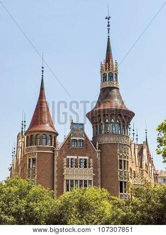 Casa De Les Punxes - Barcelona Spain