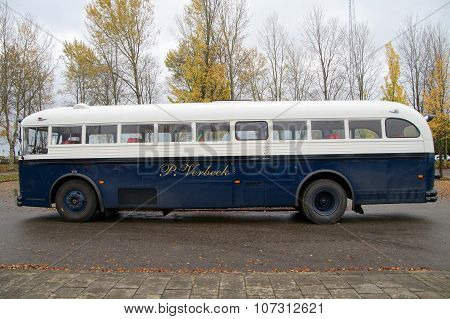 Old vintage Crown Coach Bus - 1952 Crown Supercoach