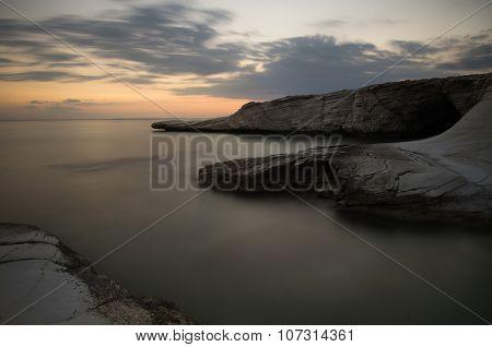 Sea Landscape During Sunset