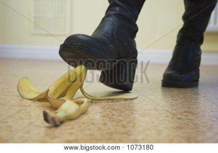 Banane Gefahr!