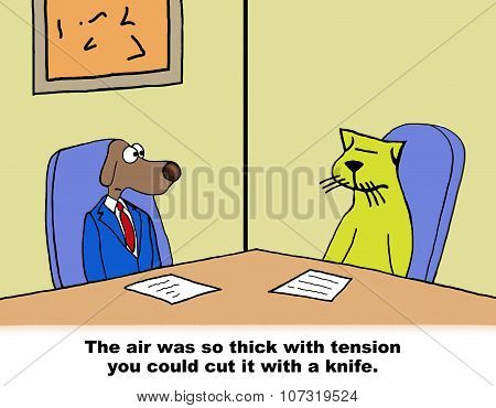 Cut the Tension with a Knife