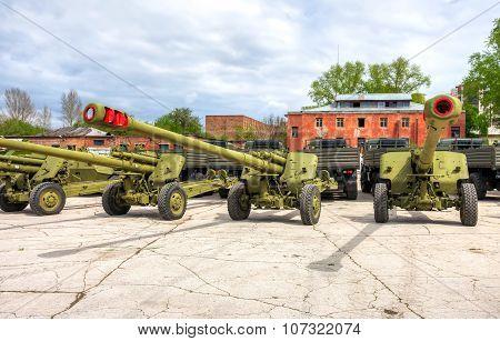 Russian 152 Mm Howitzer 2A65 Msta-b