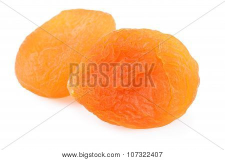 Dried Apricot Close-up