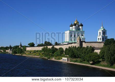 Pskov Kremlin. Russia.