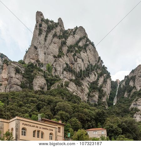The Funicular at Montserrat