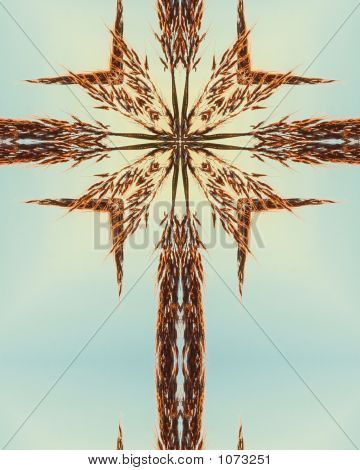 Big Bluestem Cross