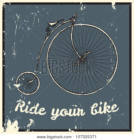 Ride your bike picture.