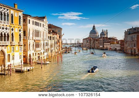 Venice, The Grand Canal, Italy