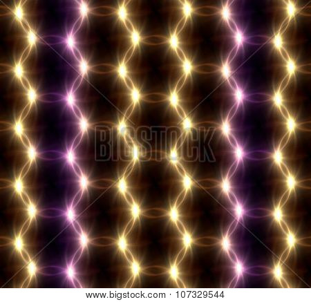 Lens Flare Overlap Color Ring Pattern