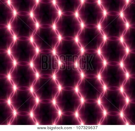 Lens Flare Overlap Red Ring Pattern