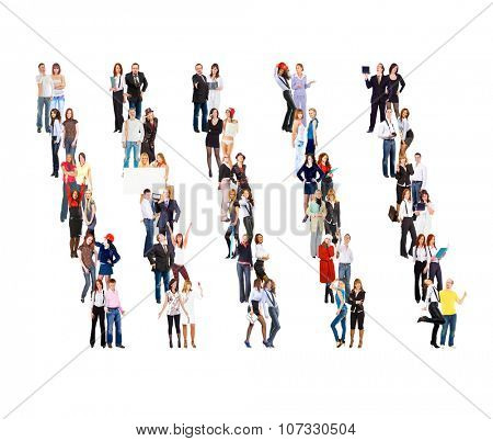 Workforce Concept Together we Stand