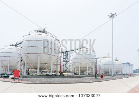 view of oil depot