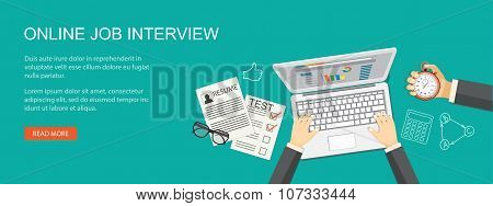 Online Job Agency