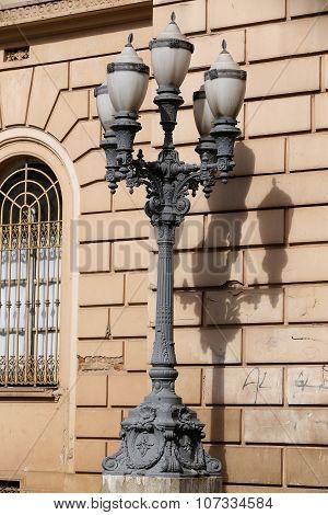 Traditional Post, Sao Paulo, Brazil
