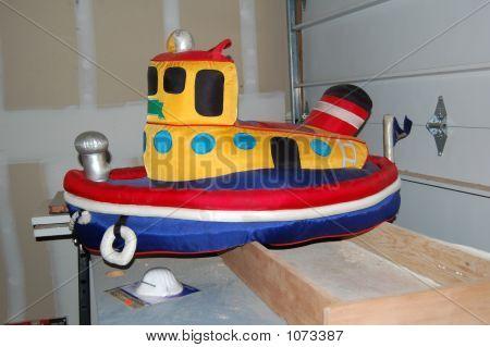 Stuffed Tug Boat
