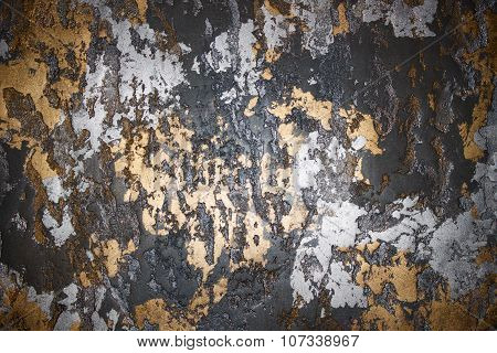 Gold Silver Background