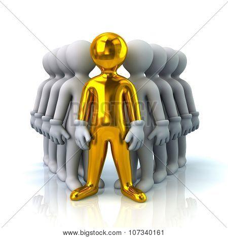 Golden Leader And Team