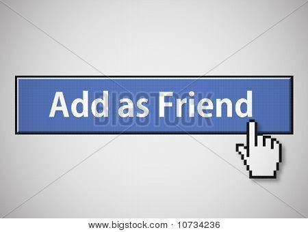 "Button ""add as friend"""