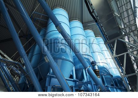 Tower Silos Bulk Storage