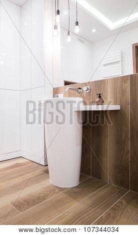 Modern Design Of The Washbasin