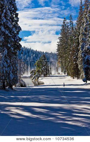 Snow on the Fairway