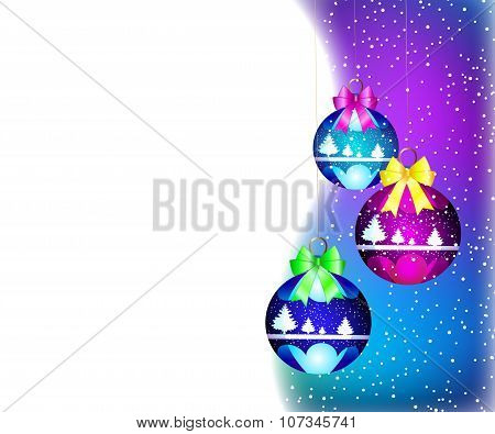 Christmas card Christmas decorations
