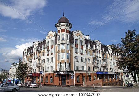 New Building In The Art Nouveau Style In  Penza, Russia