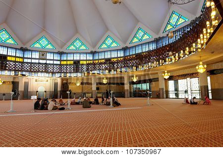 The National Mosque of Malaysia a.k.a Masjid Negara