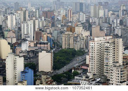 City Landscape, Sao Paulo Brazil