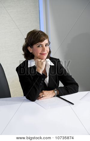 Confident Mid-adult Businesswoman
