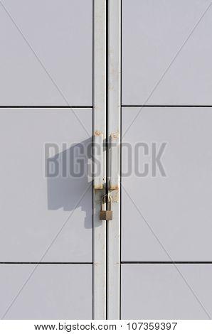 Locked.
