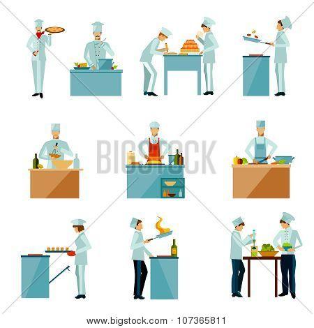 People Cooking Set