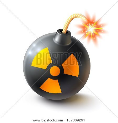Bomb Realistic Illustration