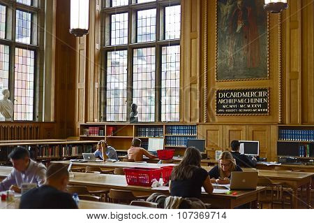 Inside The Library Of The University Of Leuven, Belgium 3