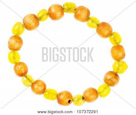 Vintage Bracelet Made Of Beads