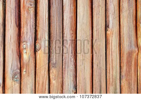 wood wall of Thai home