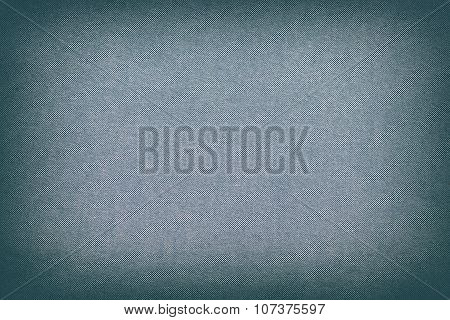 Blue Cotton Texture Oxford Fabric Background