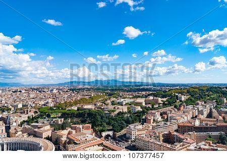 Cityscape of Vatican