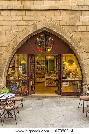 Poble Espanyol - Cafe