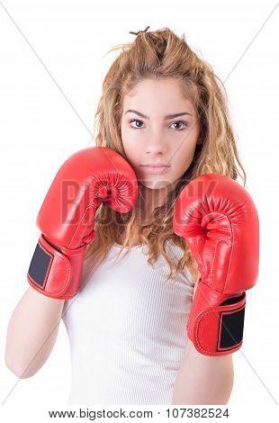 Kickboxing Girl