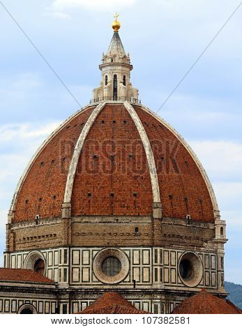 Dome Of The Cathedral In Florence Italy