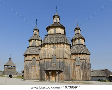 Church of the Intercession on the island Khortytsya