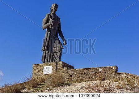 The women of Pindus monument, Zagori, Epirus
